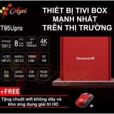 Giá Bán Android Tivi Box Mạnh Nhất Thị Trường Chinh Hang T95U Rom 16G Ram 2G Kết Nối Am Thanh Bluetooth Tặng Chuột Khong Day Agol Trực Tuyến