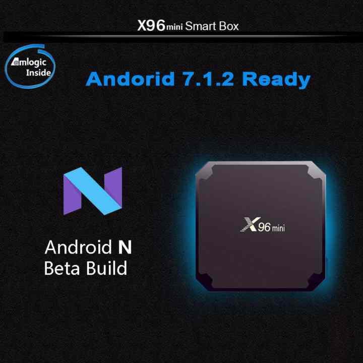 Android tivi box X96 Mini - Ram 2gb - Rom 16GB