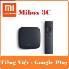 Android Tivi Box Xiaomi Mibox 3C Bản Tiếng Việt và Google Play