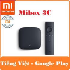 Giá Bán Android Tivi Box Xiaomi Mibox 3C Bản Tiếng Việt Va Google Play Nhập Khẩu Nguyên Xiaomi