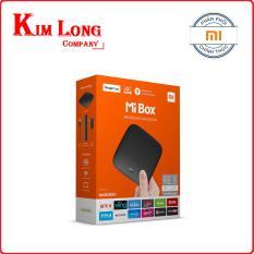 Hình ảnh Android Tivi Box Xiaomi Mibox 4K Global Quốc Tế Tiếng Việt (Hãng phân phối chính thức)