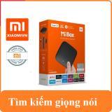 Giá Bán Android Tivi Box Xiaomi Mibox 4K Global Quốc Tế Tiếng Việt Hang Phan Phối Chinh Thức Xiaomi Nguyên