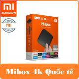 Android Tivi Box Xiaomi Mibox 4K Ultra Hd Set Top Box Global Quốc Tế Tiếng Việt Hồ Chí Minh Chiết Khấu