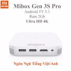 Giá Bán Android Tivi Mibox Gen 3S Pro Ram 2Gb Trắng Rẻ