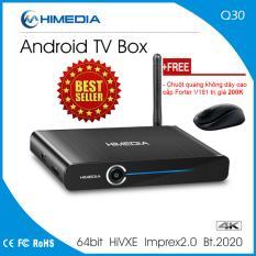 Mã Khuyến Mại Android Tv Box Himedia Q30 Tặng Tai Khoản Kodi Hdplay Tặng Kem Chuột Khong Day Cao Cấp Forter V181 Tv Box