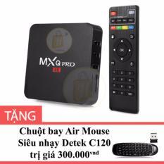 Cửa Hàng Android Tv Box Mxq Pro 4K Mau Đen Tặng Chuột Bay Air Mouse Sieu Nhạy Detek C120 Detek Trong Hồ Chí Minh