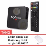 Android Tv Box Mxq Pro 4K Mau Đen Tặng Chuột Khong Day Thời Trang Detek Chiết Khấu Hồ Chí Minh