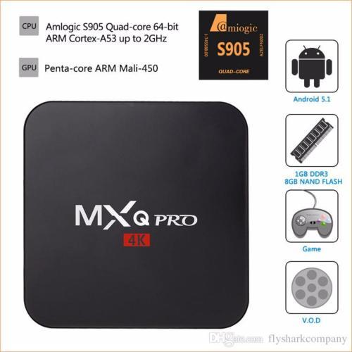 Android tv box q7 - Android Tivi Box chất lượng 4K, Cực nét, Sóng