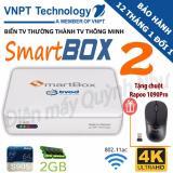 Giá Bán Android Tv Box Vnpt Smartbox 2 Trắng Chip Lõi Tứ Ram 2Gb Tặng Chuột Khong Day Rapoo 1090Pro Trị Gia 300K Rẻ Nhất