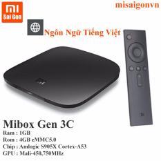 Bán Android Xiaomi Mibox Gen 3C Đen Đen Rẻ Trong Hồ Chí Minh