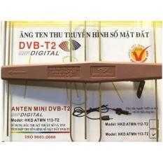 Hình ảnh Anten Mini KTS gắn trong nhà và ngoài trời- có mạch khuyếch đại + Cáp cấp nguồn anten USB