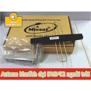 Anten mini thu sóng DVB T2 tích hợp mạch khuếch đại Micsat thumbnail