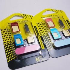 Hình ảnh Áo sim đa năng, adapter Nano sim, Micro sim, que lấy sim loại cao cấp