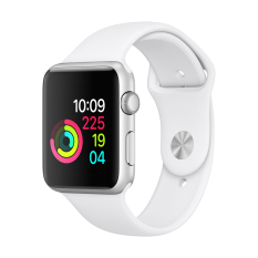 Apple Watch Series 1 42Mm Silver Aluminium Case With White Sport Band Trong Hồ Chí Minh