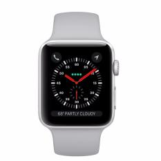 Apple Watch Series 3 42Mm Silver Aluminum Case With Fog Sport Band Gps Mql02 Apple Chiết Khấu 40