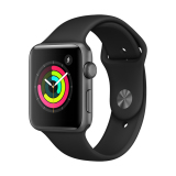 Chiết Khấu Apple Watch Series 3 Gps 42Mm Space Grey Aluminium Case With Black Sport Band Apple