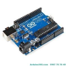 Hình ảnh Arduino Uno R3 Cắm ( Đã Bao Gồm Dây Kết Nối )