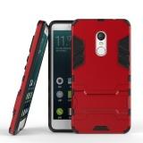 Ao Giap Nhựa Cứng Nham Lai Chống Sốc Bảo Vệ May Tinh Đứng Vỏ 1 Cai Kinh Cường Lực Cho Redmi Note 4X Redmi Note4X Redminote4X Red Mi Note 4X Redmi Note4X Quốc Tế Nguyên