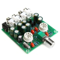 Audio 6J1 Valve Tube Preamplifier Hifi Buffer Preamp Assembled Board Ac 12V Intl Trong Trung Quốc