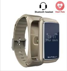 Hình ảnh B7 chuồn thấm nước thông minh Vòng Tay Tai nghe Bluetooth Gọi Đo Nhịp Tim Thể dục Vòng tay Thể thao dây đeo thông minh Đối with IOS Android-quốc tế