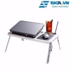 Hình ảnh Bàn Chuyên Dụng Dùng Cho Laptop Thông Minh Có Quạt Tản Nhiệt US04078-01 (Trắng)