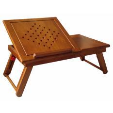 Hình ảnh Bàn laptop bằng gỗ (Vàng cánh gián)
