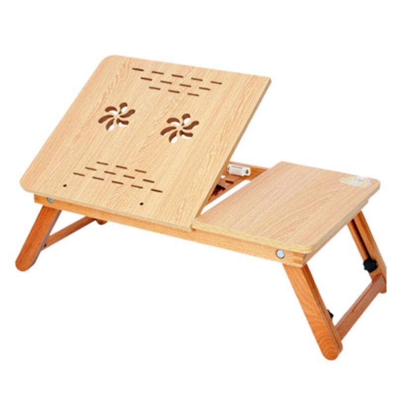 Bàn laptop gỗ cao su