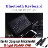Ôn Tập Ban Phim Bluetooth New4All Kyz11 Tặng Đen Pin Mini Sieu Sang Hồ Chí Minh