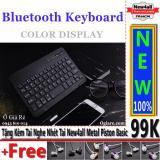 Bán Ban Phim Bluetooth New4All V100 Cho Điện Thoại Trắng Tặng 01 Tai Nghe Nhet Tai New4All Piston Basic New4All Trực Tuyến