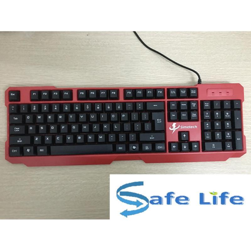 bàn phím chống nước Simetech SK-212 không bay chữ siêu bền