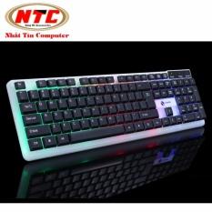 Hình ảnh Bàn phím dành cho game thủ Lemeide K11 led đa màu (Đen)