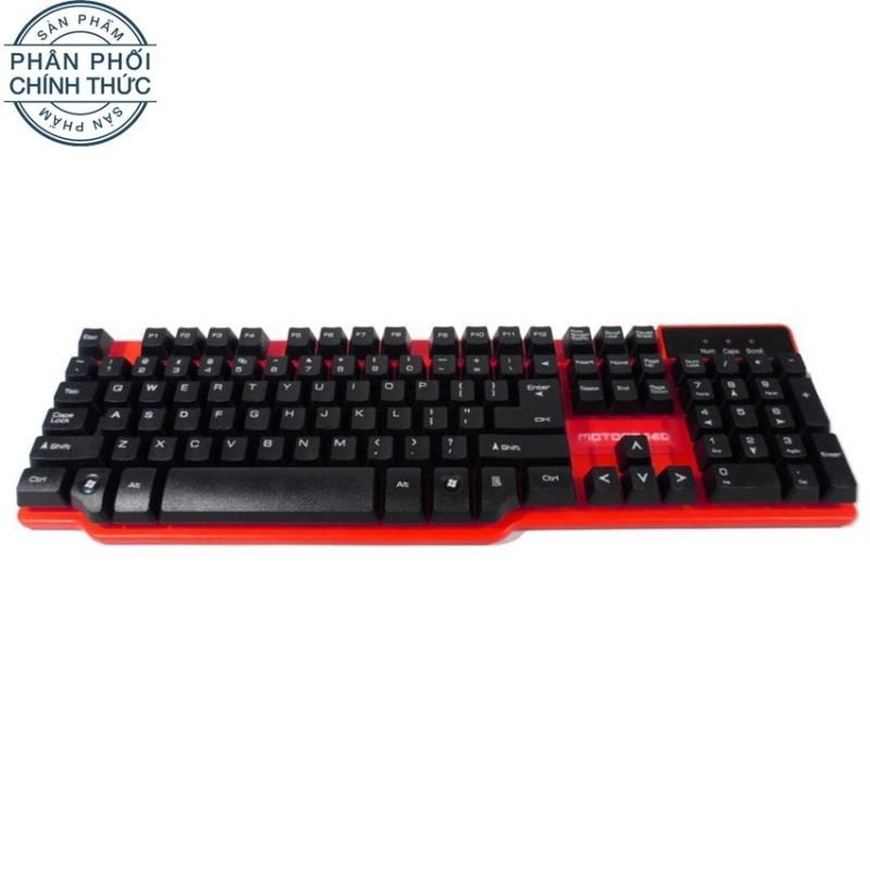 Bàn phím giả cơ Motospeed K68 (Đỏ đen) - Hãng phân phối chính thức