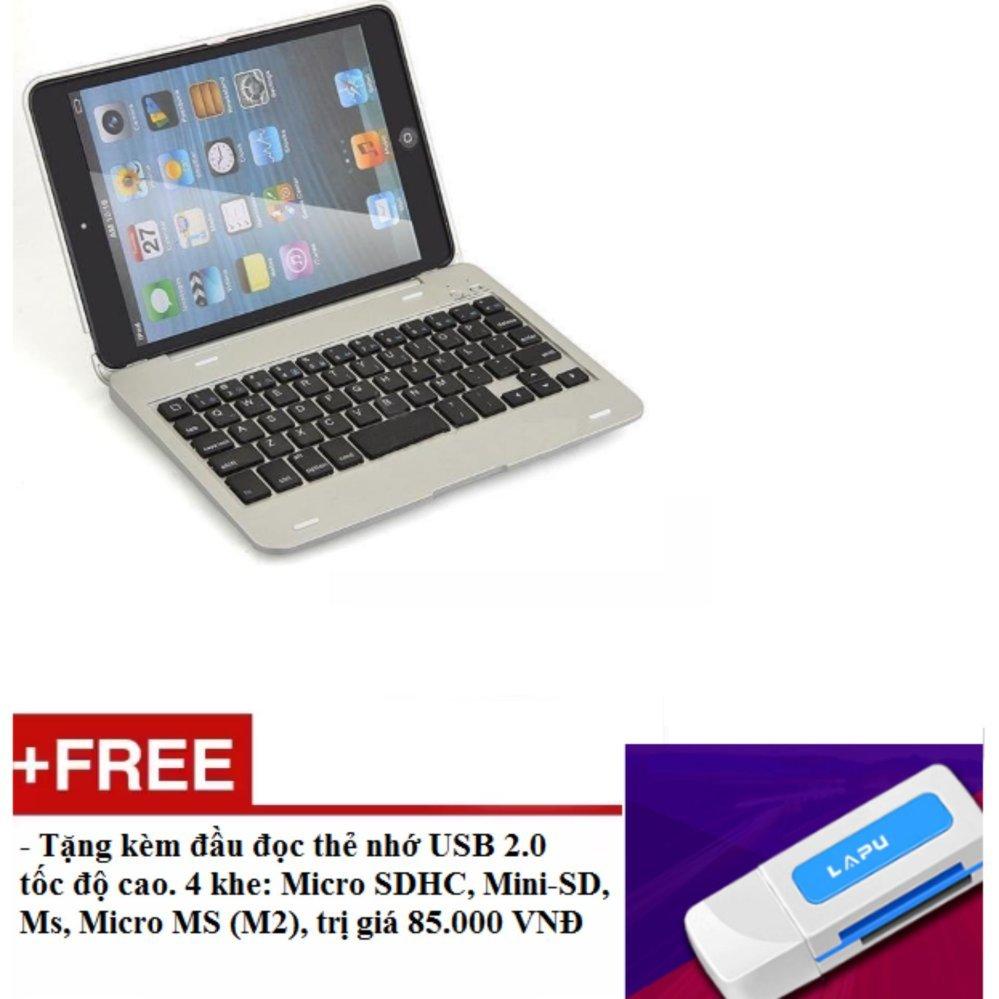 Bàn Phím Keyboard Ốp Lưng Bluetooth Cho Ipad Mini 1 2 3