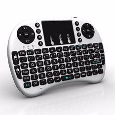 Giá Bàn phím kiêm chuột không dây GKP UKB 500-RF Mini Keyboard (Trắng)