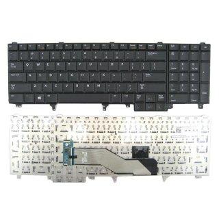 Bàn phím Laptop Dell Precision M4600 M6600 M4700 M6700 Latitude E6520 E6530 E5520 E5530 (Đen) - Hàng nhập khẩu thumbnail