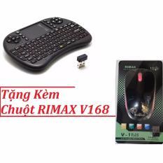 Giá Bán Ban Phim Tv Box Wireless Rt Mwk08 Tặng Kem Chuột Khong Day Rimax 79K Rimax
