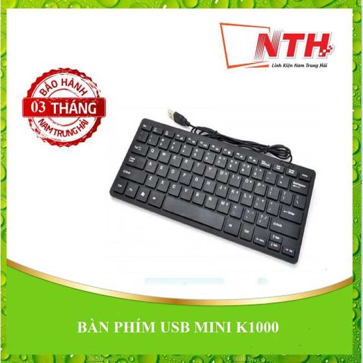 BÀN PHÍM USB MINI K1000