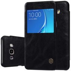 Bao Da Cao Cấp Nillkin Qin Cho Samsung Galaxy J7 2016 5 5Inch Mới Nhất