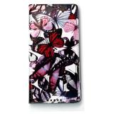 Bán Mua Bao Da Cho Sony Xperia C5 Ultra Z By Zenus Butterfly Diary Đỏ Họa Tiết Mới Vietnam