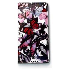 Bao Da Cho Sony Xperia C5 Ultra Z By Zenus Butterfly Diary Đỏ Họa Tiết Chiết Khấu Vietnam