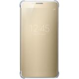 Giá Bán Bao Da Clear View Cover Danh Cho Galaxy Note 5 Hang Nhập Khẩu Vang Champange Tốt Nhất