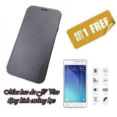 Giá Bán Bao Da Fib Cover Tặng Kcl Galaxy J7 Pro Đen Trong Hà Nội