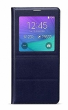 Mã Khuyến Mại Bao Da Galaxy Note 4 View Hoco Original Series Xanh Đen Hoco Mới Nhất