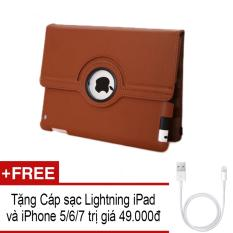 Mua Bao Da Ipad Mini Xoay 360 Độ Tặng Cap Sạc Lightning Cho Ipad Va Iphone 5 6 7 Oem Nguyên
