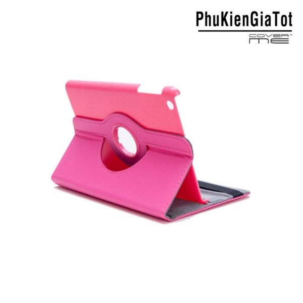 Giá Bao Da iPad Mini Xoay 360 - Lopez Cute (Hồng)