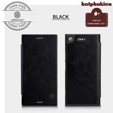 Giá Bán Bao Da Leather Cao Cấp Nillkin Qin Cho Sony Xperia Xz1 Da Thật Chống Sốc Chống Trầy Chống Bể Vỡ Man Hinh Tuyệt Đối Phan Phối Hotphukien Trong Hồ Chí Minh