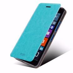 Bán Mua Bao Da Lumia 640Xl Cao Cấp Hiệu Mofi Xanh Trong Vietnam