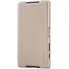 Bao da Nillkin cho Sony Xperia Z5 Premium (Vàng Champagne)