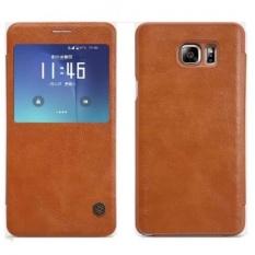 Ôn Tập Bao Da Nillkin Qin Cho Samsung Galaxy Note 5 Mau Nau Trong Hà Nội