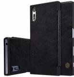 Ôn Tập Tốt Nhất Bao Da Nillkin Qin Series Sony Xperia Xz Đen Đen